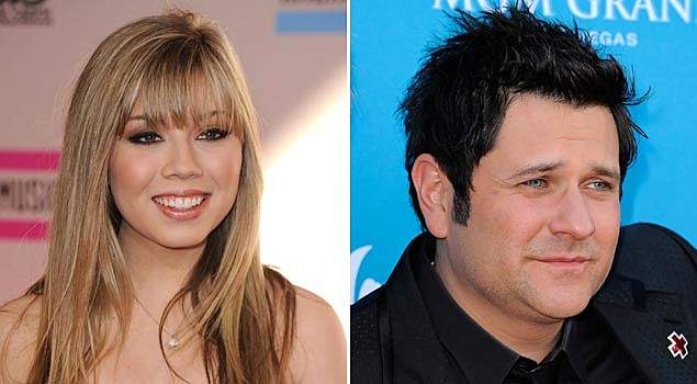 Jennette McCurdy and Jay DeMarcus of Rascal Flatts