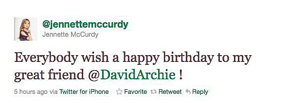 Everybody wish a happy birthday to my great friend @DavidArchie !
