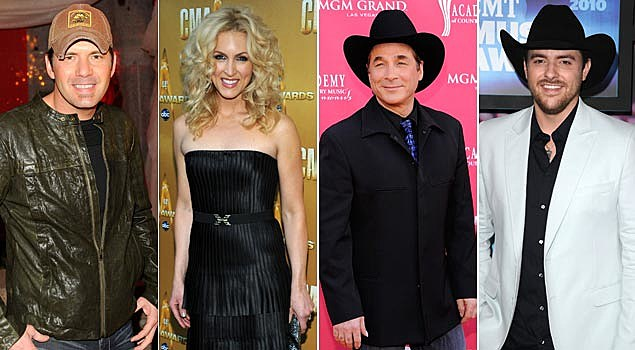 Rodney Atkins, Kimberly Schlapman of Little Big Town, Clint Black, Chris Young