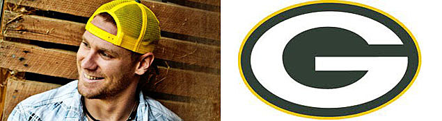Chase Rice, Green Bay Packers Logo