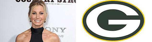 Faith Hill, Green Bay Packers Logo