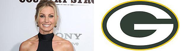 Faith Hill, Green Bay Packers Logo