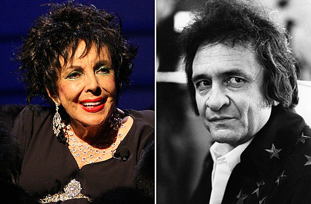 Elizabeth Taylor, Johnny Cash
