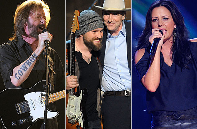 Ronnie Dunn Zac Brown James Taylor Sara Evans