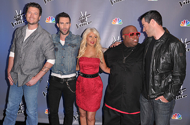 Blake Shelton and 'The Voice' coaches