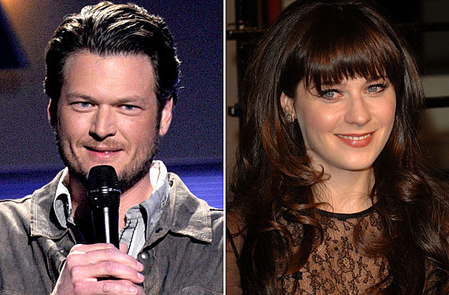 Blake Shelton, Zooey Deschanel