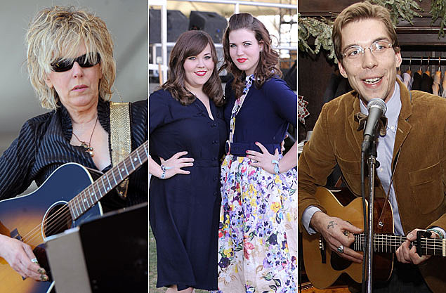 Lucinda Williams, Secret Sisters, Justin Townes Earle