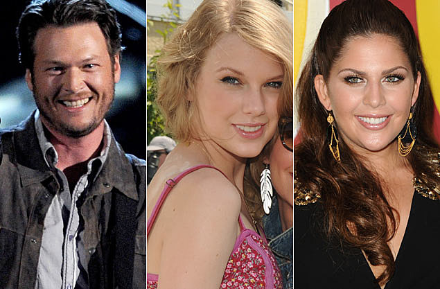 Blake Shelton Taylor Swift Hillary Scott