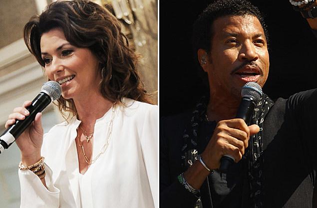Shania Twain Lionel Richie