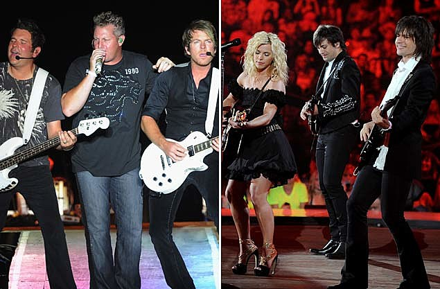 Rascal Flatts and The Band Perry