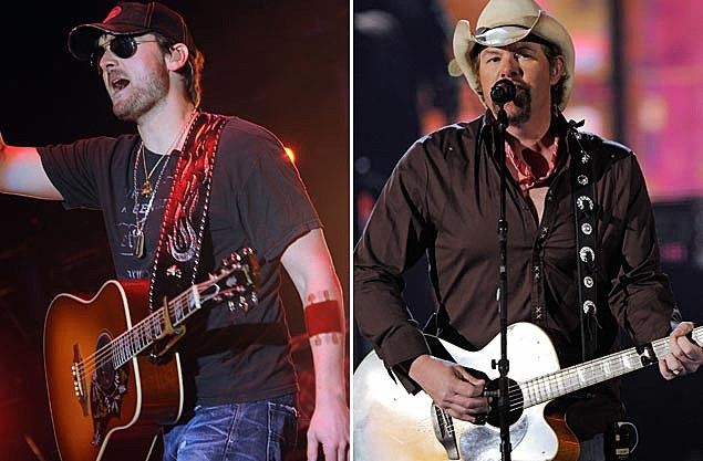 Eric Church, Toby Keith