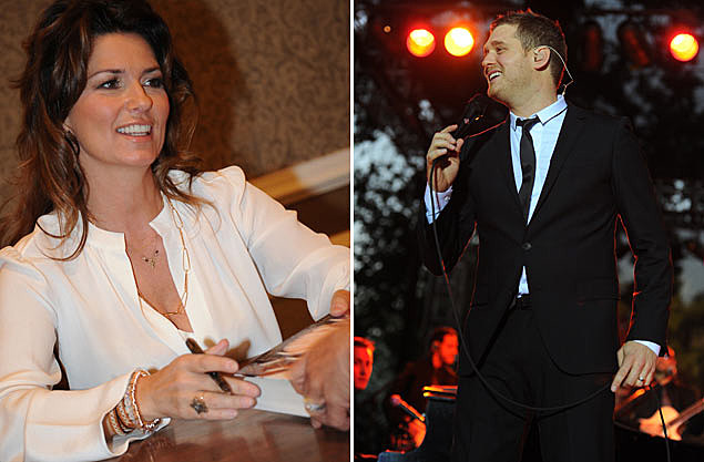 Shania Twain, Michael Buble