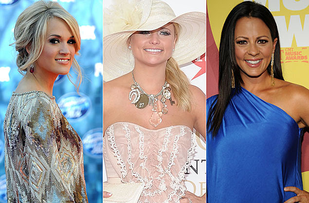 Carrie Underwood, Miranda Lambert, Sara Evans