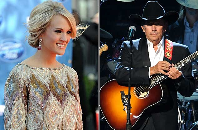 Carrie Underwood George Strait