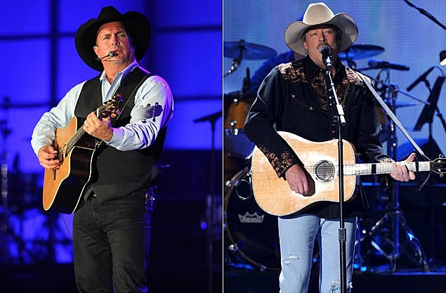 Garth Brooks, Alan Jackson