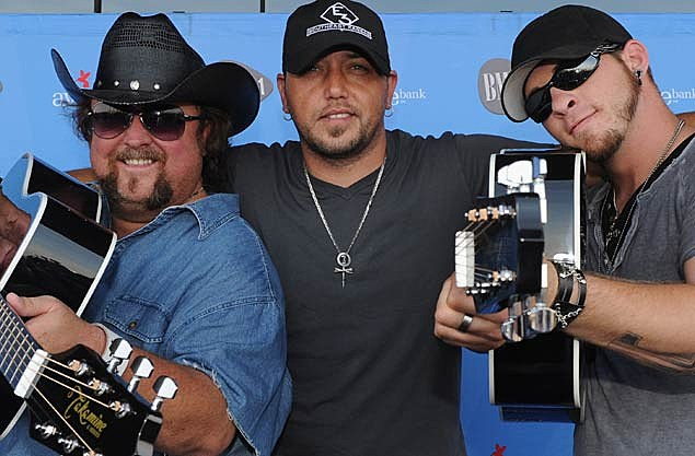 Colt Ford, Jason Aldean, Brantley Gilbert