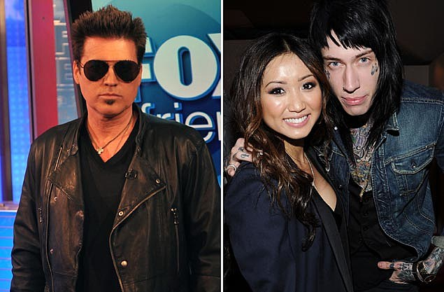 Billy Ray Cyrus, Brenda Song, Trace Cyrus