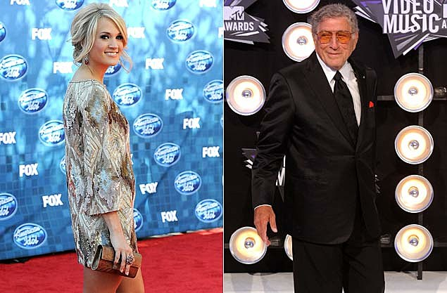 Carrie Underwood, Tony Bennett