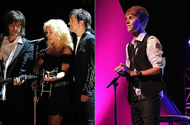 The Band Perry, Justin Bieber