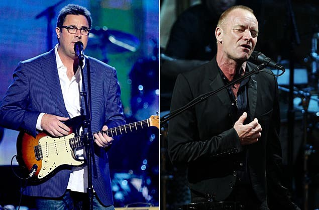 Vince Gill, Sting