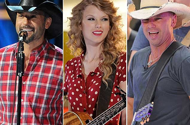 Tim McGraw Taylor Swift Kenny Chesney