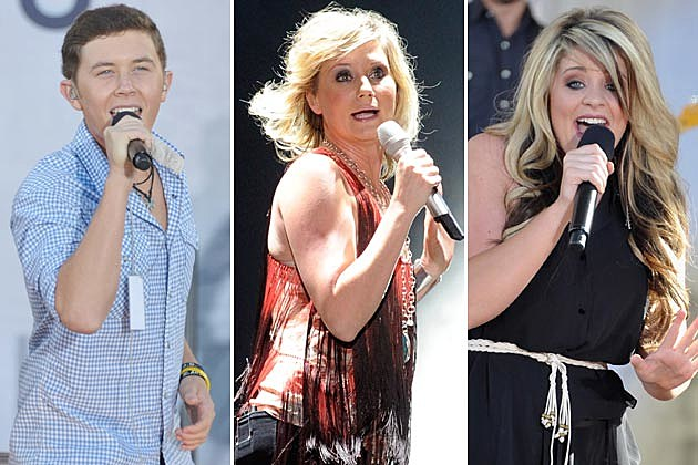 Scotty McCreery, Jennifer Nettles, Lauren Alaina