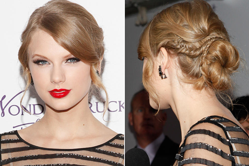 Taylor Swifts Braided Updo How To Get The Look