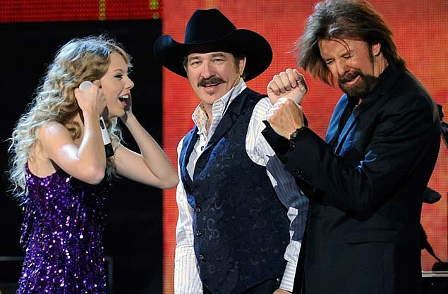 Taylor Swift Kix Brooks Ronnie Dunn
