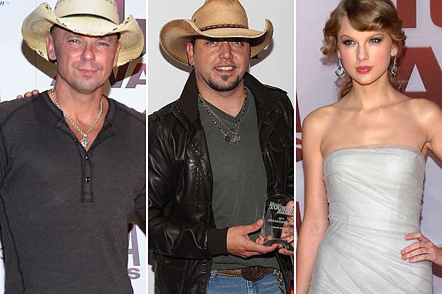 Kenny Chesney, Jason Aldean, Taylor Swift