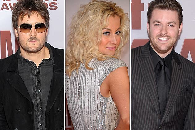 Eric Church, Kellie Pickler, Chris Young
