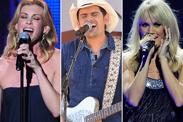 Faith Hill Brad Paisley Carrie Underwood