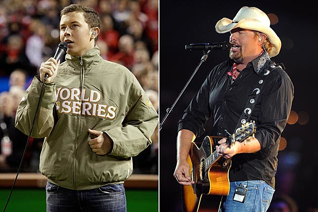 Scotty McCreery, Toby Keith