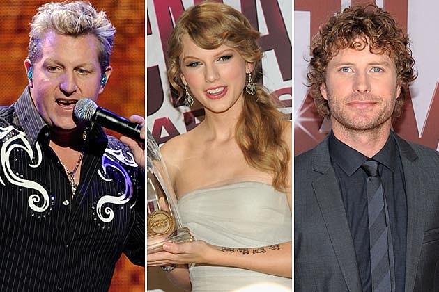 Gary LeVox, Taylor Swift, Dierks Bentley