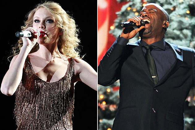 Taylor Swift, Darius Rucker