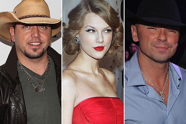 Jason Aldean Taylor Swift Kenny Chesney