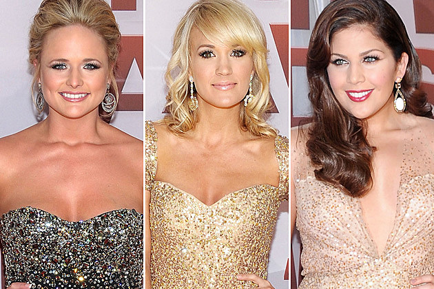 Miranda Lambert Carrie Underwood Hillary Scott