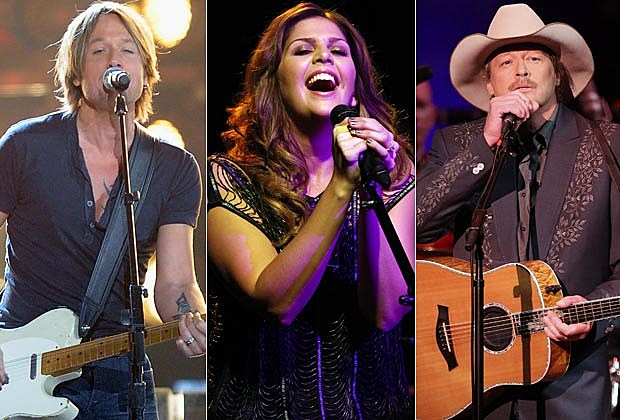 Keith Urban, Lady Antebellum, Alan Jackson