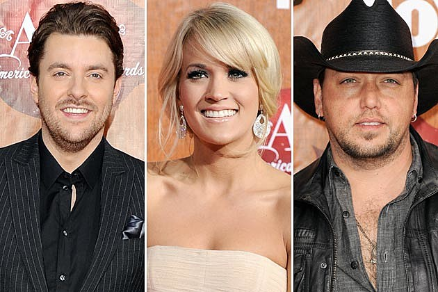 Chris Young, Carrie Underwood, Jason Aldean