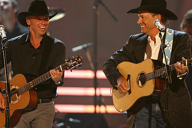 Kenny Chesney George Strait