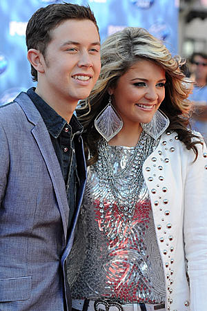lauren alaina dating scotty Lauren alaina may have showered scotty mccreery with kisses when he was crowned the winner of american idol on wednesday, but the former competitors insist there's nothing romantic going on between them.