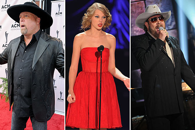 Eddie Montgomery, Taylor Swift, Hank Williams Jr.
