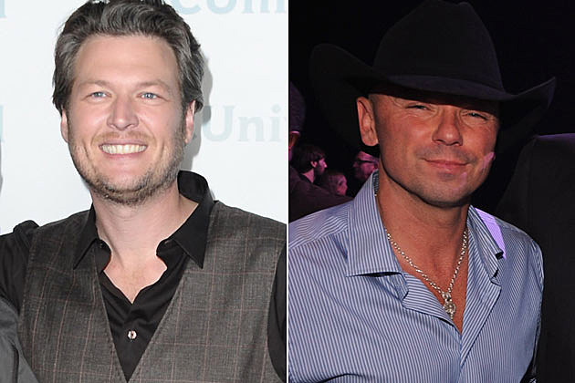 Blake Shelton, Kenny Chesney