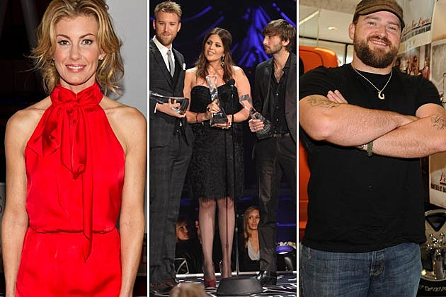 Faith Hill, Lady Antebellum, Zac Brown Band