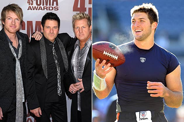 Rascal Flatts, Tim Tebow