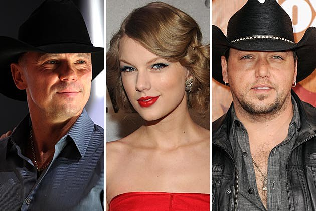 Kenny Chesney, Taylor Swift, Jason Aldean