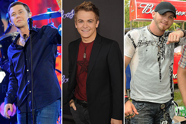 Scotty McCreery, Hunter Hayes, Brantley Gilbert
