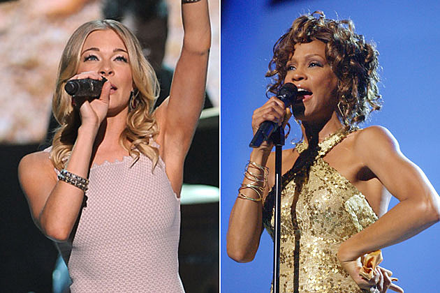 LeAnn RImes, Whitney Houston