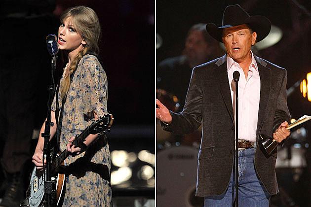 Taylor Swift, George Strait