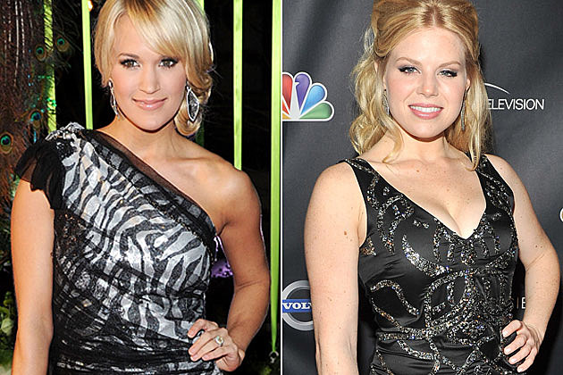 Carrie Underwood, Megan Hilty