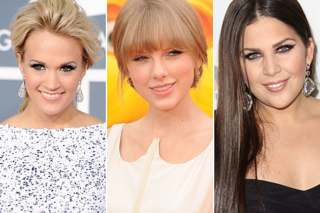 Carrie Underwood, Taylor Swift, Hillary Scott